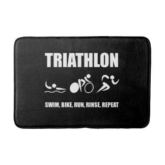 Triathlon Rinse Repeat Bath Mat