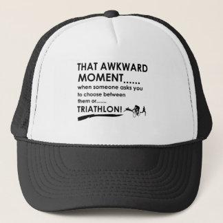 Triathlon Sports Designs Trucker Hat