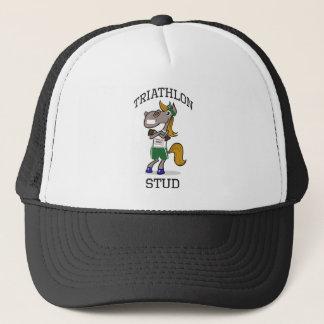 Triathlon Stud Trucker Hat