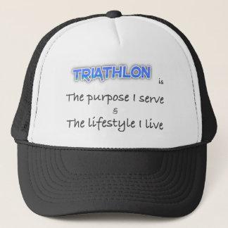 TRIATHLON - The purpose I serve Trucker Hat
