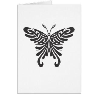 Tribal Butterfly Card