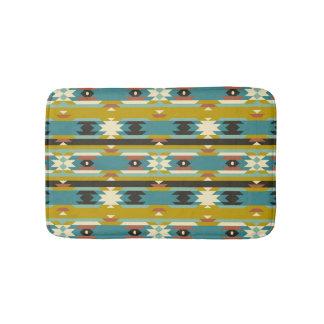 Tribal Colorful Geometric pattern Bath Mat