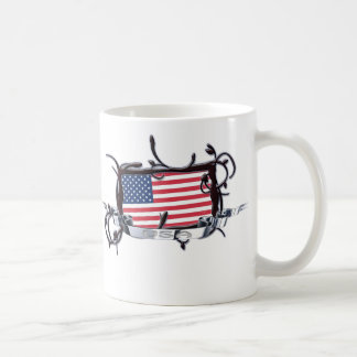 Tribal Flag USA Mug