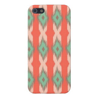 Tribal geometric ikat girly abstract Aztec pattern iPhone 5 Covers