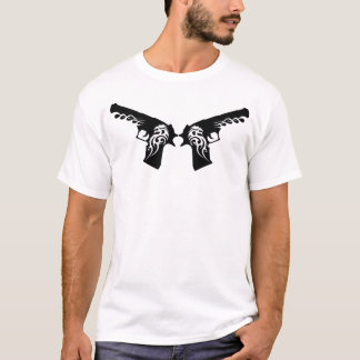 tribal guns 3 T-Shirt