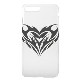 Tribal Heart Shape iPhone 7 Plus Case