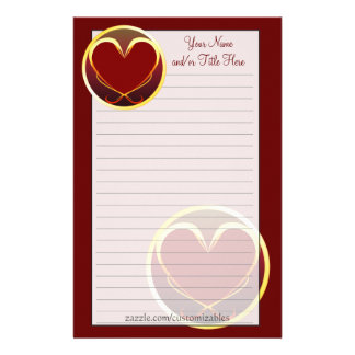 Tribal Heart Stationery
