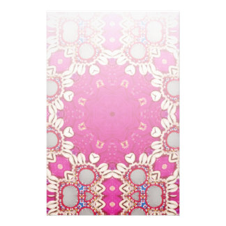 tribal hippie gypsy bohemian fuchsia Magenta Stationery