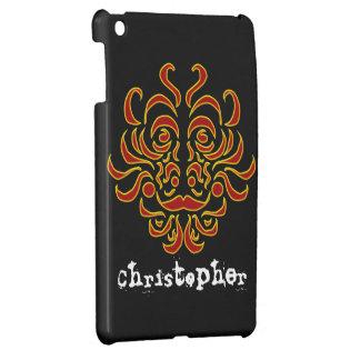 Tribal Idol iPad Mini Case Template
