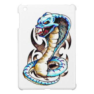 Tribal King Cobra Tattoo Cover For The iPad Mini