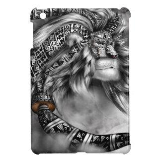 Tribal Lion Spirit Case For The iPad Mini