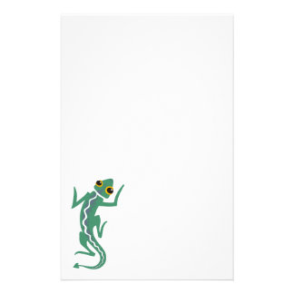 Tribal Lizard Stationery