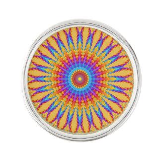 Tribal Mandala Motif Lapel Pin