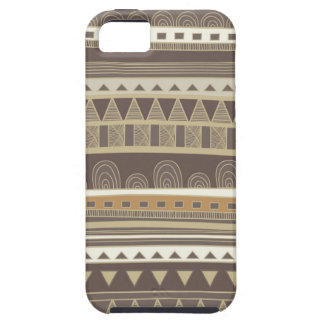 Tribal Neutral Grays Abstract iPhone Case