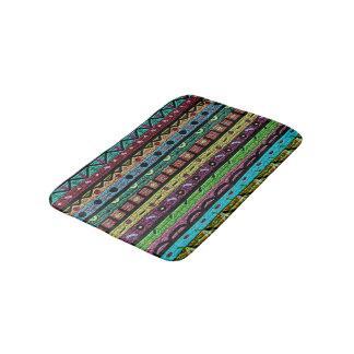 Tribal Pattern Bath Mat