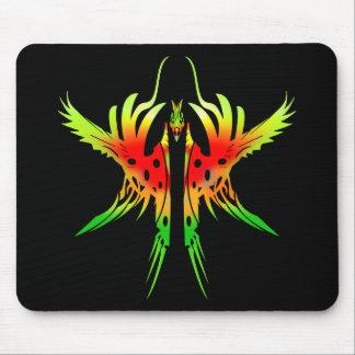 Tribal Phoenix III Mouse Pad