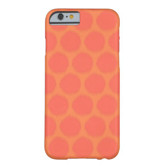 Tribal polka dot primitive Aztec ikat dots pattern Barely There iPhone 6 Case