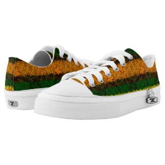 Tribal Reggae Nature Printed Low Top Shoes