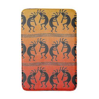 Tribal Southwestern Design Kokopelli Bath Mats