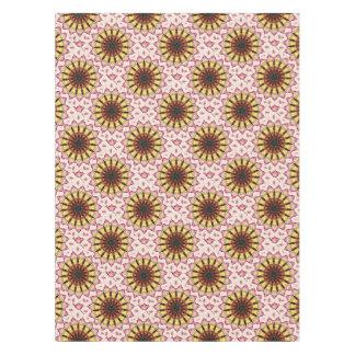Tribal Spears and Fading Hearts Mandala Tablecloth