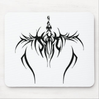 tribal tattoo effect mouse pad