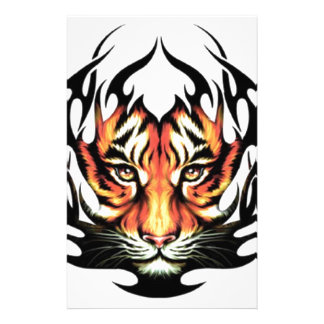 Tribal tiger stationery