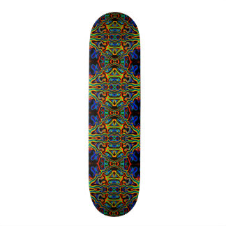 Tribal Visions Psychedelic Pattern 1 Skateboard