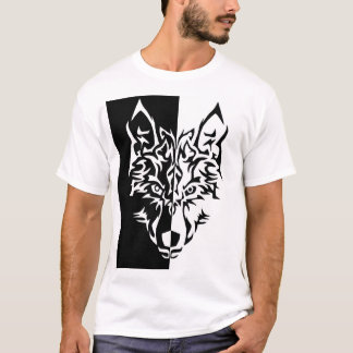 Tribal Wolf Style T-Shirt
