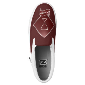 Tribe Of Asher Crest Custom Zipz Sneakers