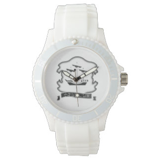 Tribe Of Zebulun Women's White Silicone Watch