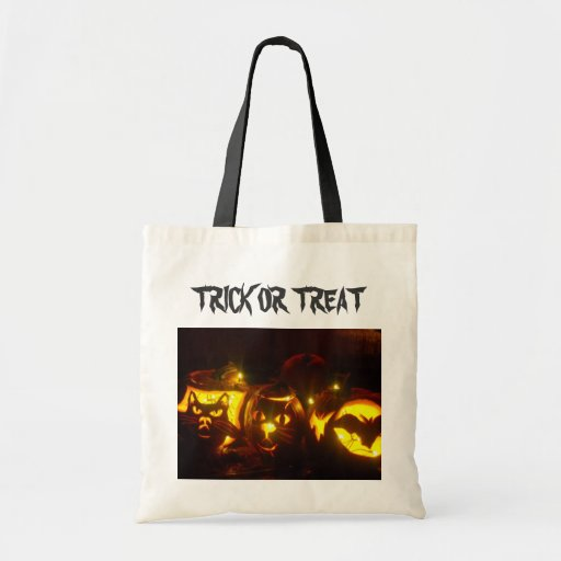 TRICK OR TREAT CANVAS BAGS
