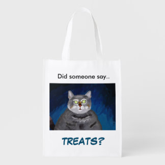 Trick or Treat Bag with Cat
