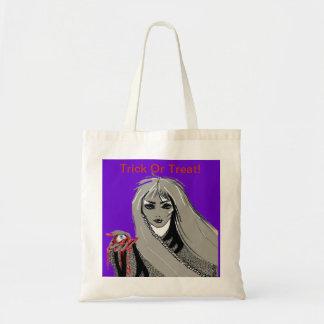 Trick Or Treat!-Budget Tote Bag