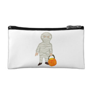 Trick or Treat Cute Halloween Toddler Mummy Zombie Cosmetics Bags