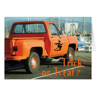 Trick or Treat ? Greeting Card