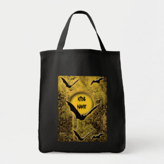 Trick or treat Halloween bat bags