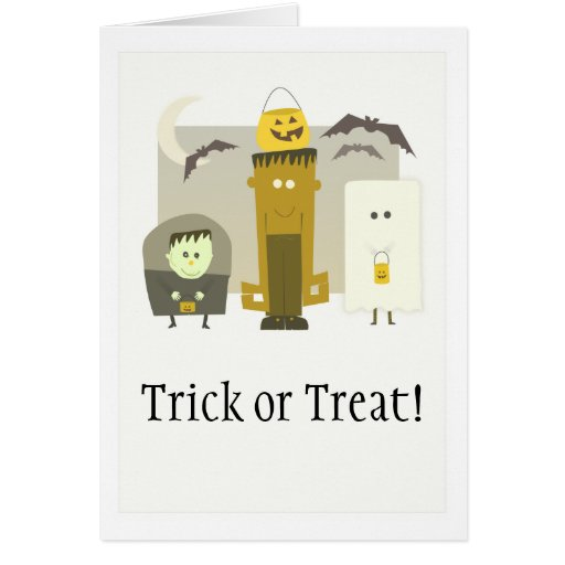 Trick or Treat! Halloween Card