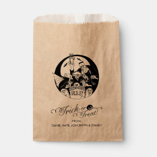 Trick or Treat Halloween Roster Favour Bags
