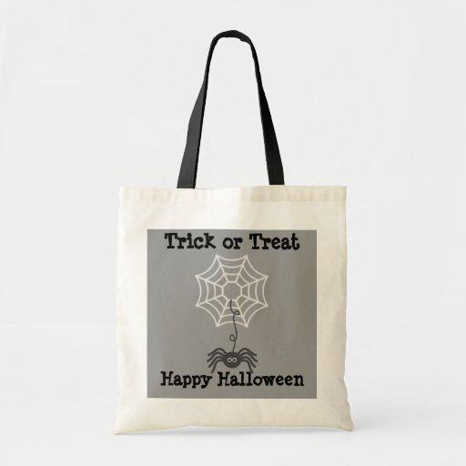 Trick or Treat Halloween Spider Treat Bag