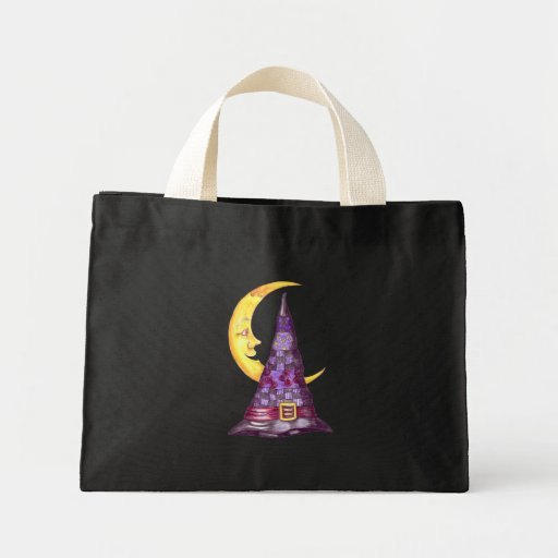 TRICK OR TREAT HALLOWEEN TINY TOTE BAG