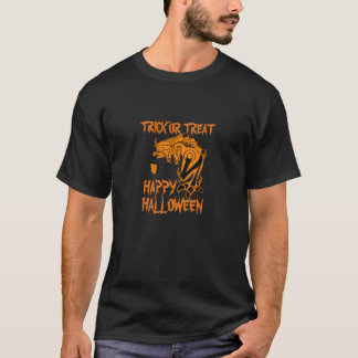 Trick or Treat Happy Halloween Creature Shirt