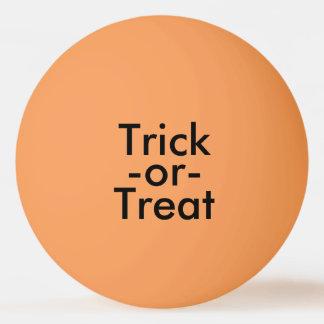 Trick-or-Treat in Black on Orange Halloween Theme