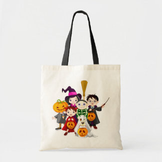 Trick or treat Kids Budget Tote Bag