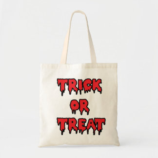 Trick or Treat - Red Budget Tote Bag