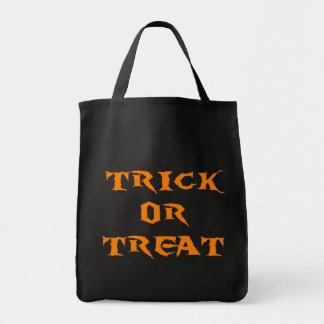 Trick Or Treat Spooky Tote Bags