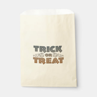 Trick or treat  Sweets Bag Favour Bags