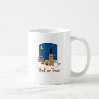 Trick or Treat Terv Halloween Classic White Coffee Mug