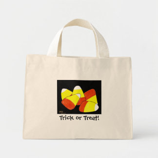 Trick or Treat tote Canvas Bags