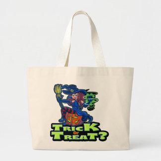 TRICK OR TREAT TOTE JUMBO TOTE BAG
