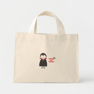 Trick or Treat with Dracula Mini Tote Bag